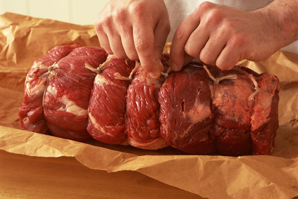Raw chuck roast