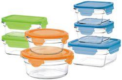 Glasslock 14-Piece Oven Safe Box Set with Lids