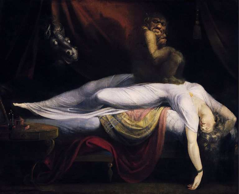 The Nightmare Painting by Henry Fuseli, 1781
