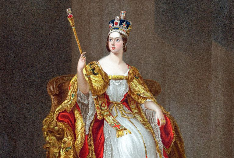 Painting of Queen Victoria