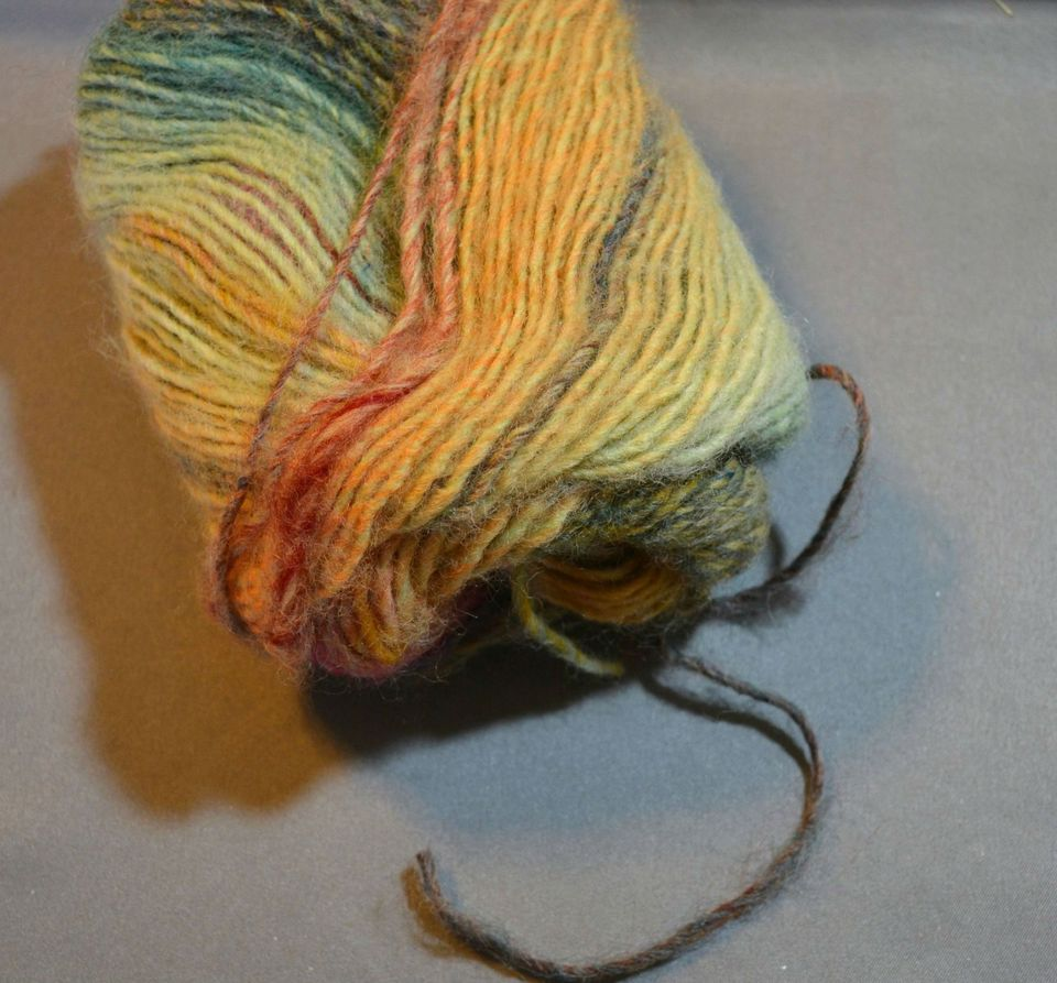 "A singles yarn is made from one ""ply"" of yarn."