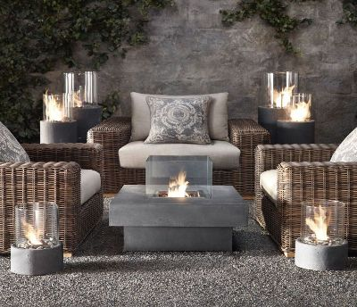Restoration Hardware Outdoor Furniture And Accessories