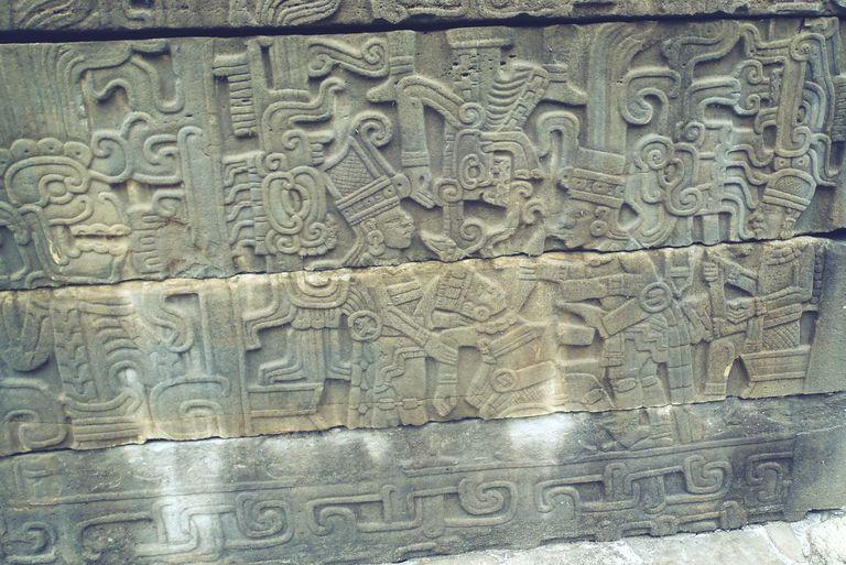 Sculpture at the South Ballcourt