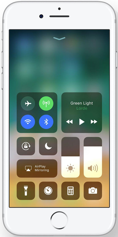 Pusat Kawalan iOS 11
