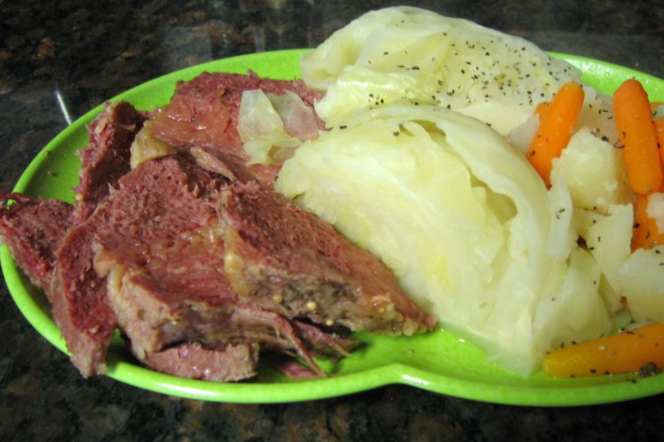 Corned Beef and Cabbage Photo 2005
