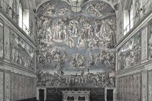 Sistine chapel in vatican city