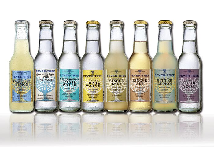 Fever-Tree Tonic Waters and Other Soda Waters