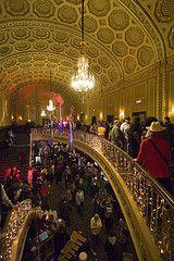 Ann Arbor Film Festival in the historic Michigan Theater, Ann Arbor (2008)