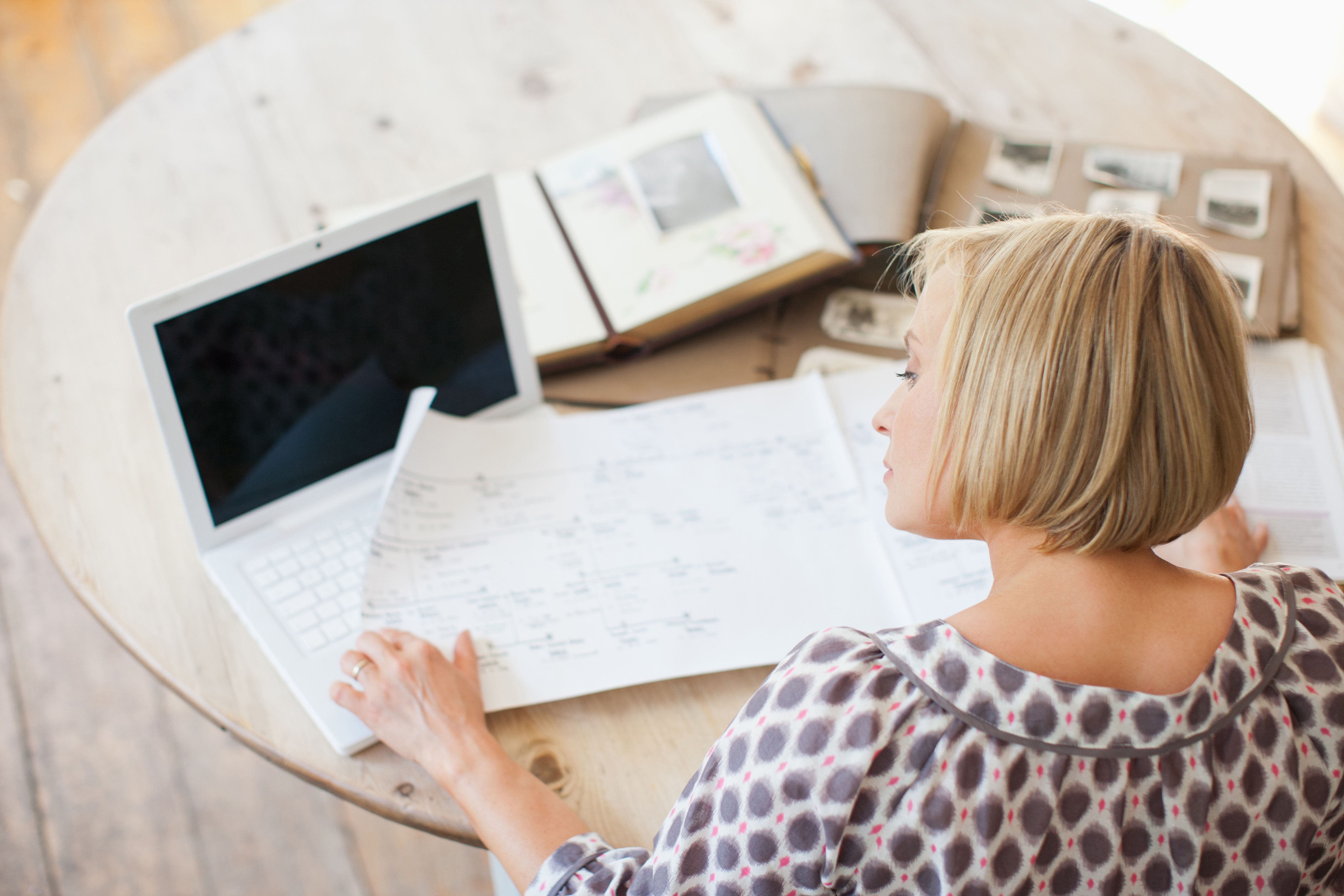 10 steps to writing your family history