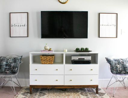 ikea furniture hacks. 7 DIY TV Stands That Hide Ugly Cable Boxes And Wires · Furniture Hacks Ikea