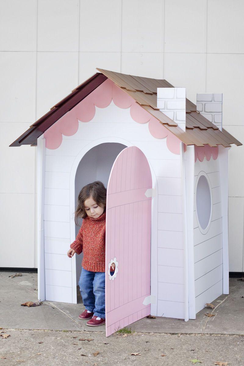 DIY Collapsible Playhouse