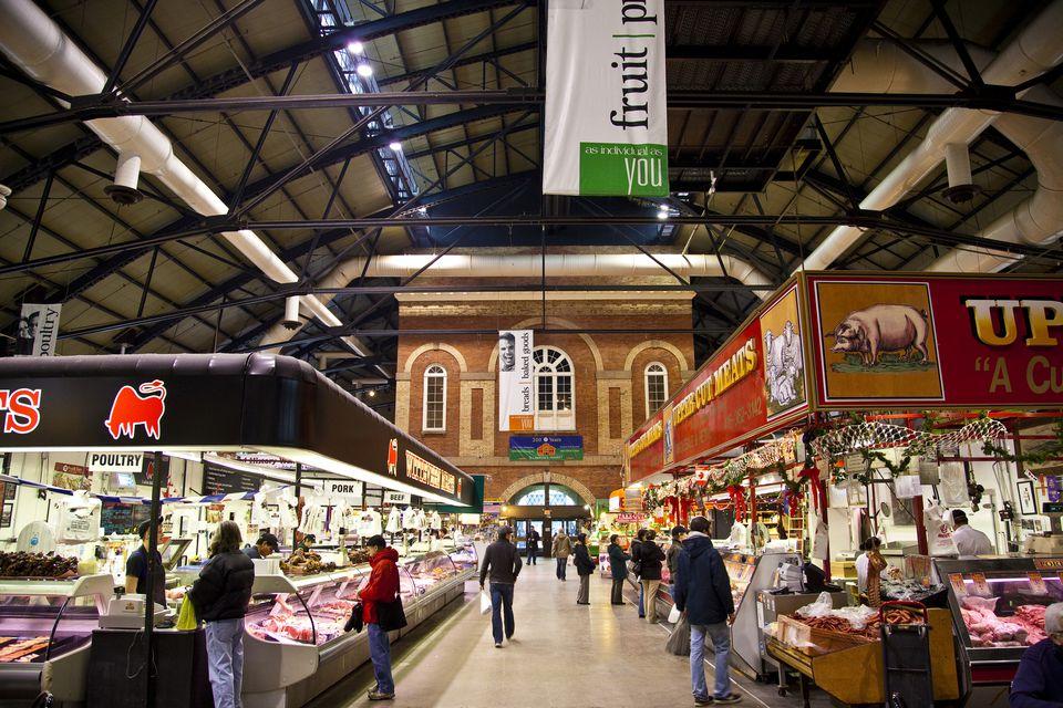 St Lawrence Market.