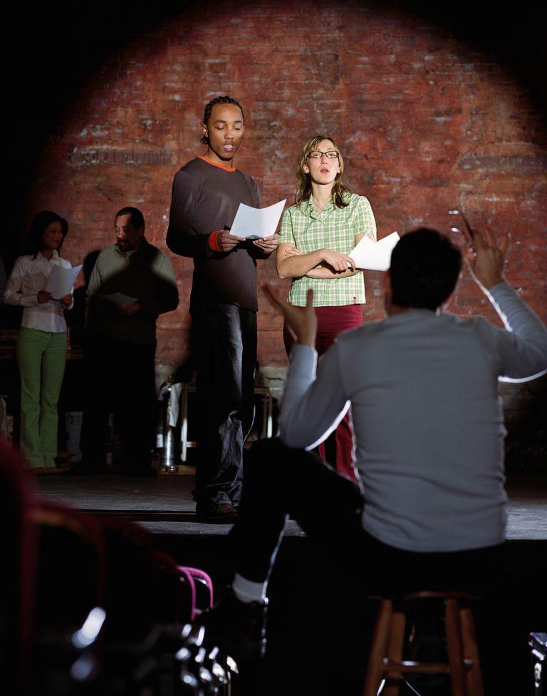Directing the actors