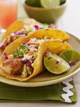 Gluten-Free Fish Taco Recipe Image Alexandra Grablewski/Getty Images