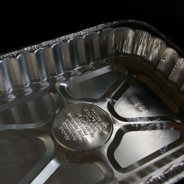 Drip Pan with Water - Smoking Turkey