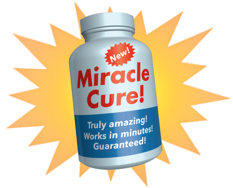 Used under a Creative Commons license at http://en.wikipedia.org/wiki/Placebo#/media/File:%22Miracle_Cure!%22_Health_Fraud_Scams_%288528312890%29.jpg