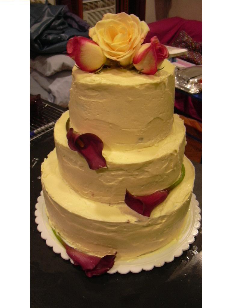 Step 7 Decorating The Wedding Cake