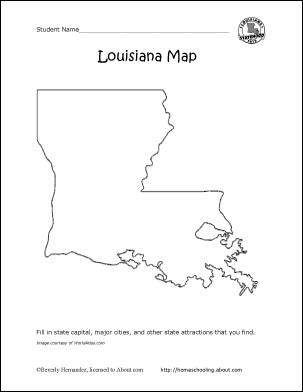 Louisiana Wordsearch Crossword Puzzle and More