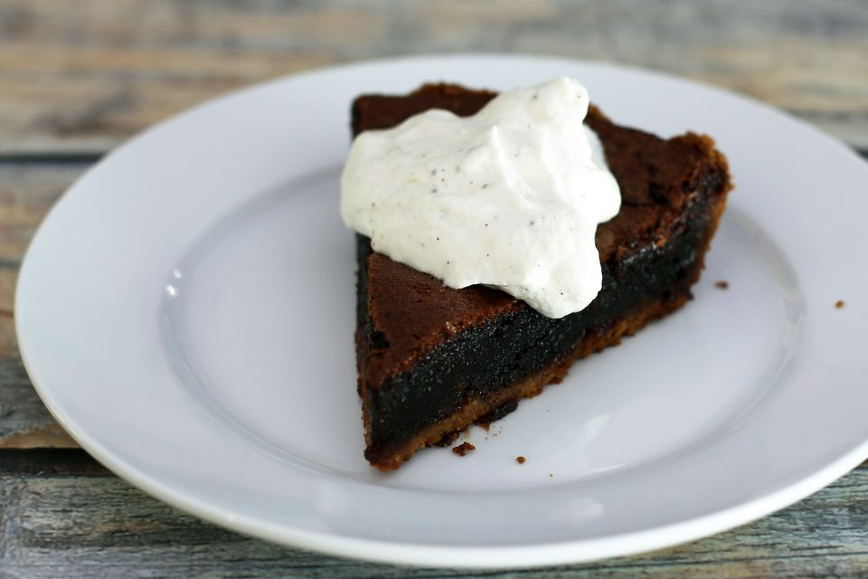 Chocolate Pie - Mississippi Mud Pie