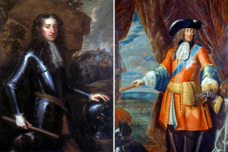 William III and James II - two English kings slugging it out in Ireland.