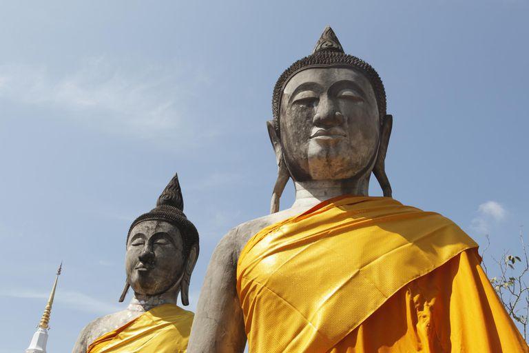 Buddha Statues, Wat Phra Chaiya Ratchaworawihan