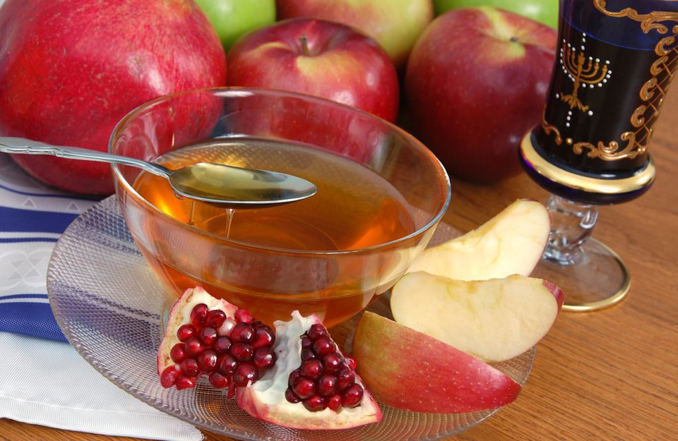 Apples, Honey, and Pomegranate for Rosh Hashana