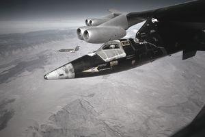 B-52 Carrying Rocket Plane