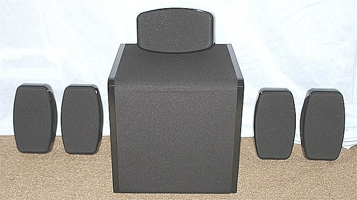 Paradigm Cinema 100 CT 5.1 Channel Speaker System - Photo of Front View