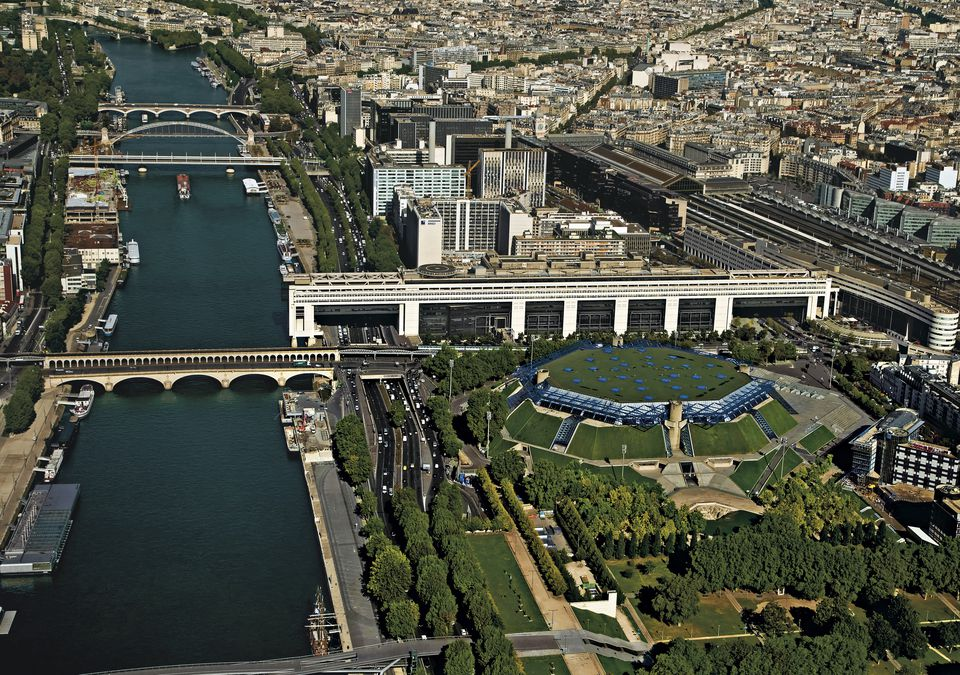 Palais Omnisports de Paris in the 12 arrondissement in Paris.