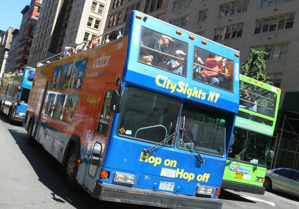 Doubledecker Hop On Hop Off Bus in NYC
