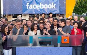 Facebook NASDAQ opening bell