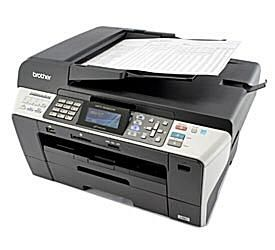 Brother Professional Series MFC-6490CW Color Inkjet All-in-One with Wireless Networking