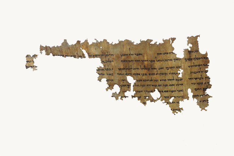 Pseudo-Ezekiel - Dead Sea Scroll Manuscript 4Q386