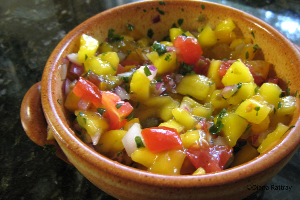 Peach Salsa With Honey and Lime