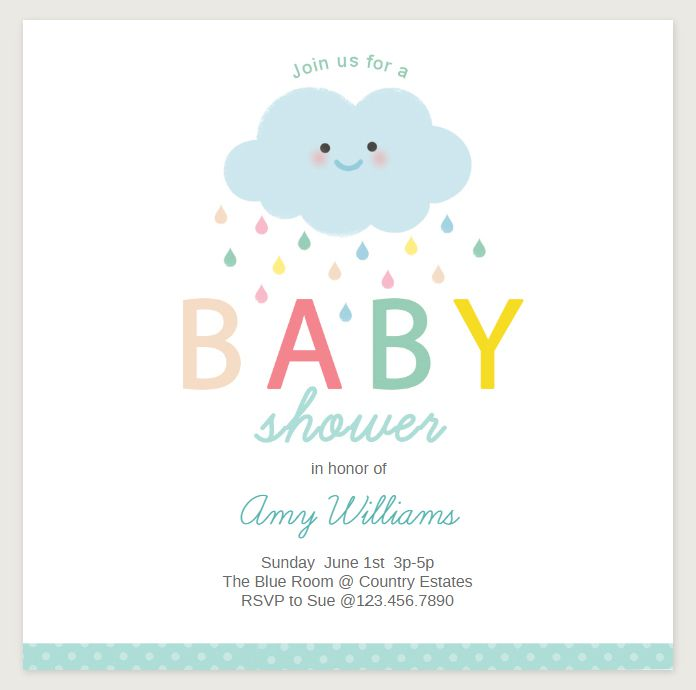 17 Sets Of Free Baby Shower Invitations You Can Print