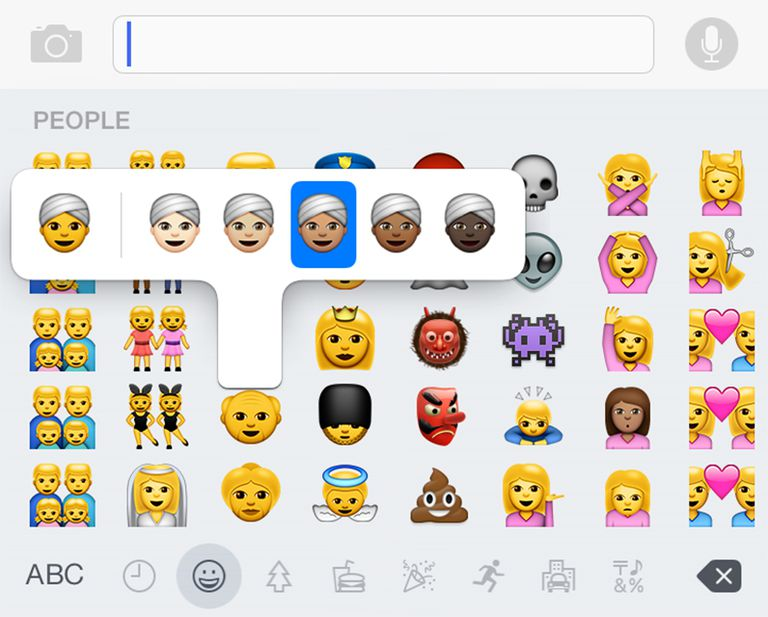 Add emoji to iPhone