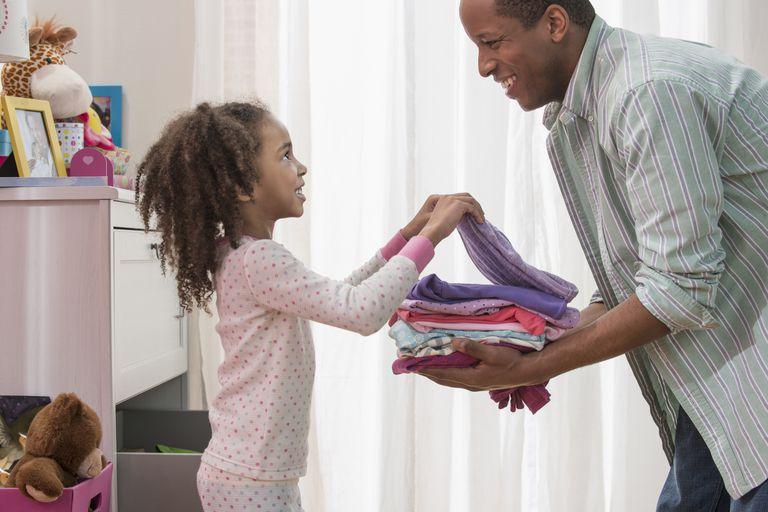 Reward systems motivate kids to do chores.