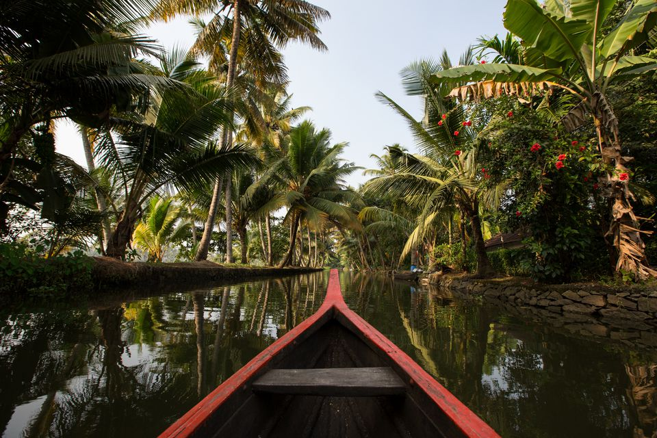 Kerala backwaters.