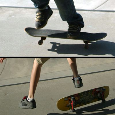 Skateboarding Chickenfoot Help