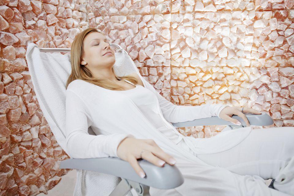 salt room and salt therapy