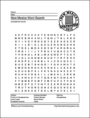 Rounding Place Value Worksheets New Mexico Wordsearch Crossword Puzzle And More Types Of Soil Worksheet Pdf with Handwriting Worksheets With Arrows Pdf New Mexico Wordsearch Addition Games Worksheets Word