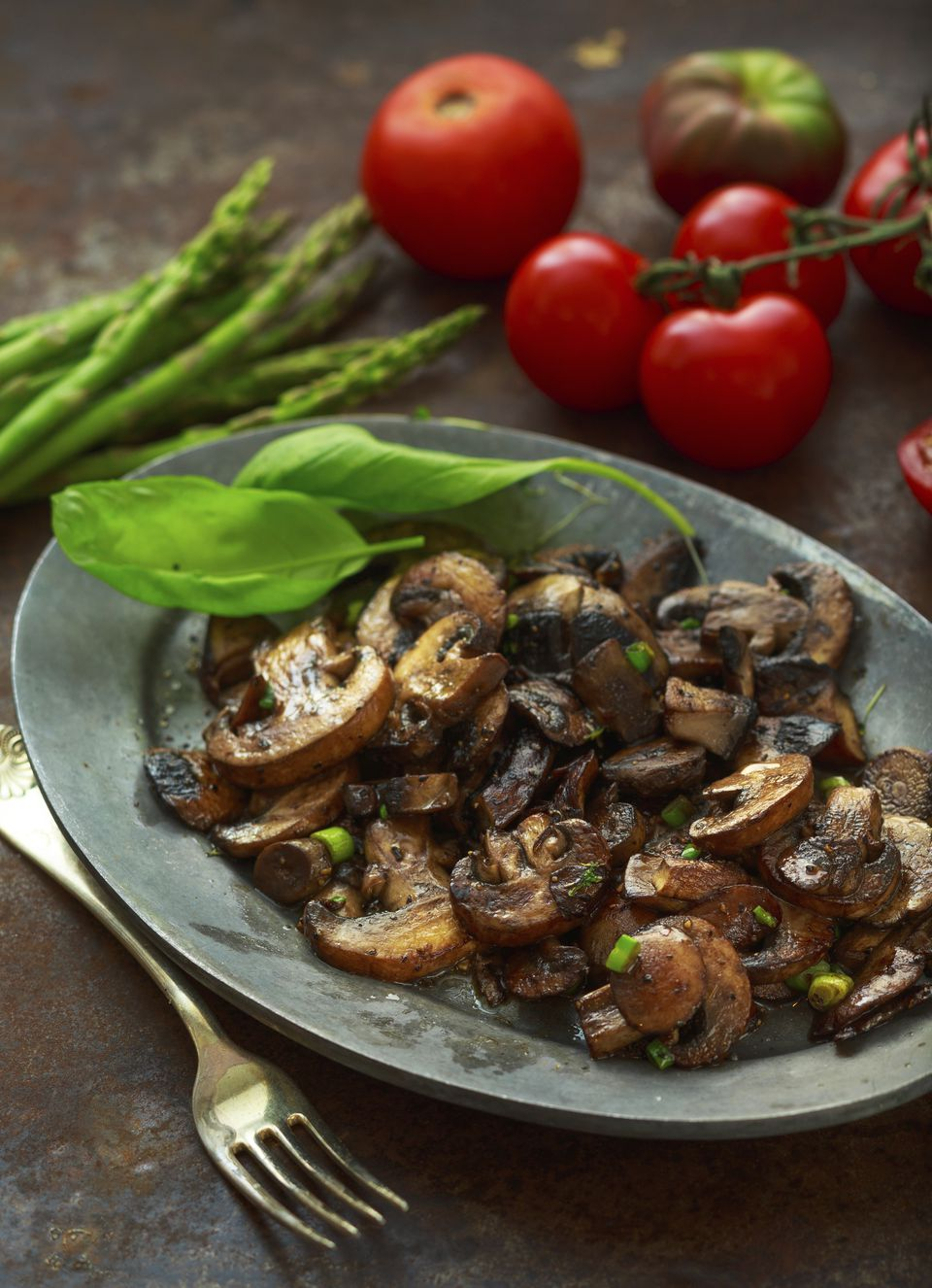Mushroom Saute as appetizer or atop of the main course.