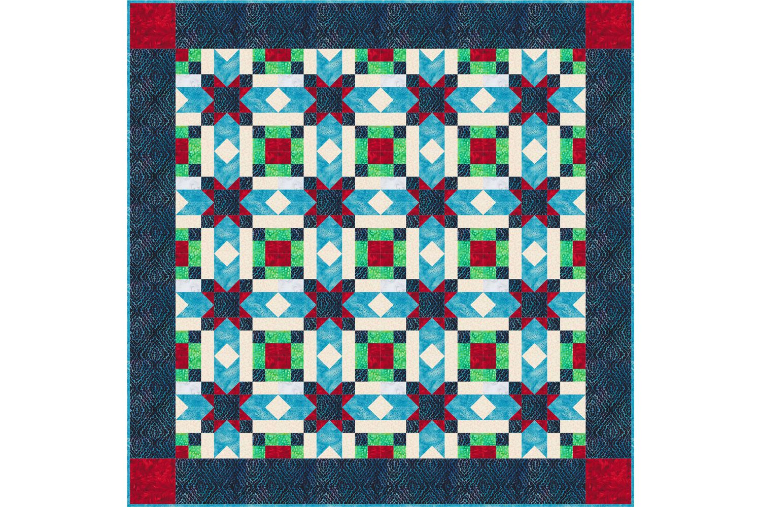 Quick Tips to Help You Sew Mitered Borders to a Quilt : mitered quilt borders easy - Adamdwight.com