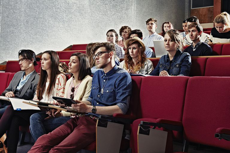 College students seated in a lecture hall represent a commonly used type of research convenience sample.