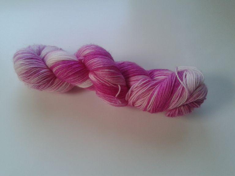 Una madeja de lana sin ovillar
