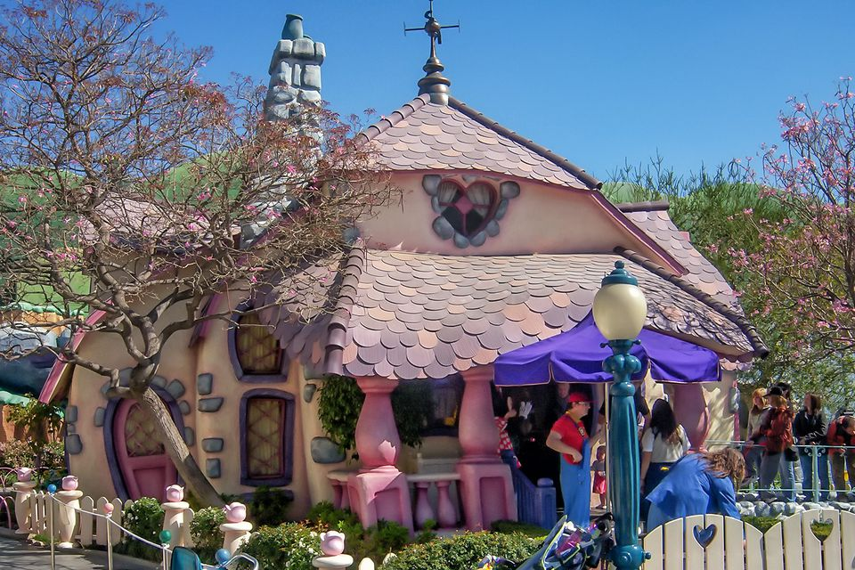 Minnie's House in Toontown