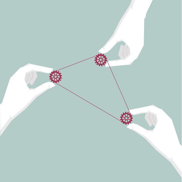 Representation of the trine