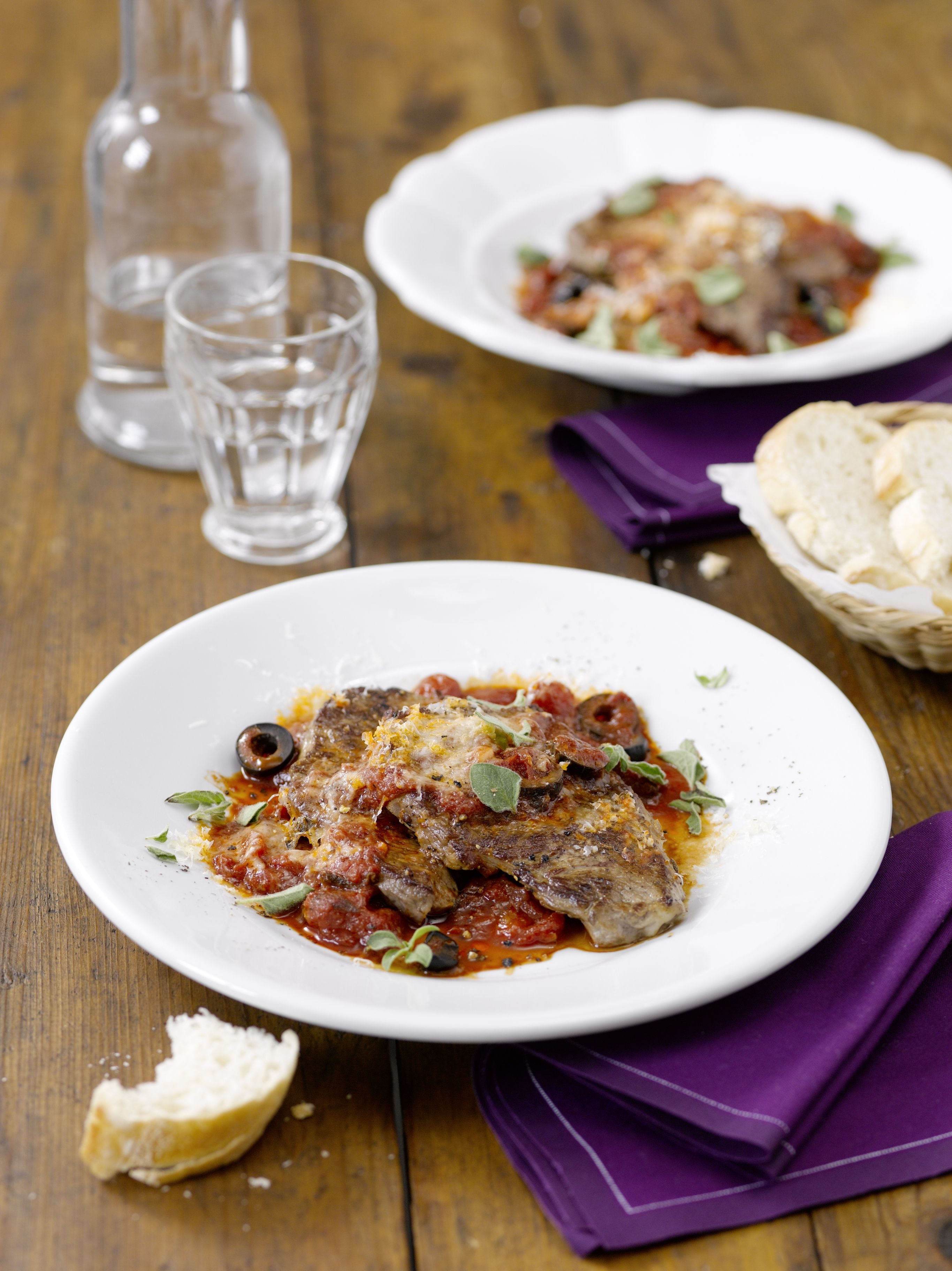 Easy Swiss Steak With Tomatoes Recipe