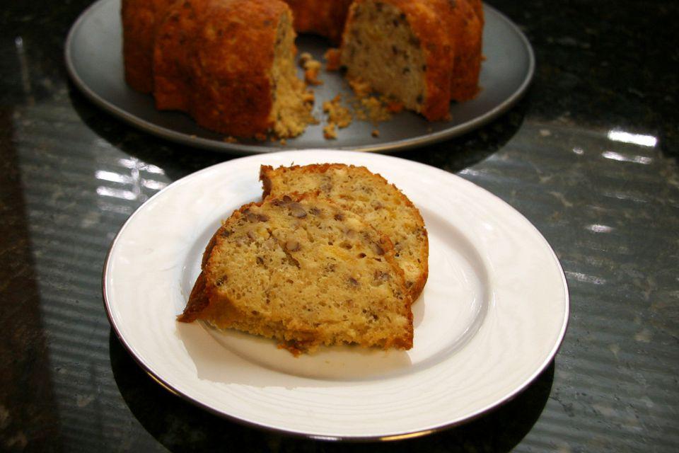 Easy Fresh Nectarine Cake (or Peach Cake)