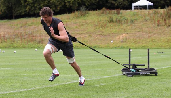 Weighted Sled Sprint Training